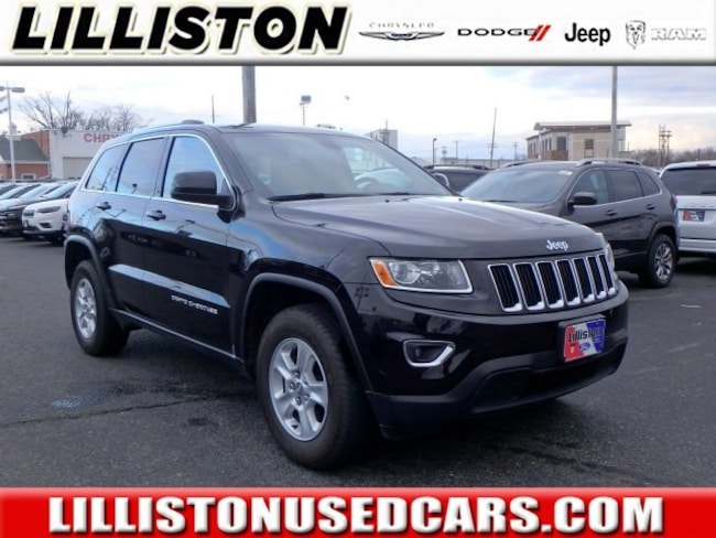 Certified 2015 Jeep Grand Cherokee Laredo 4x4 SUV for sale in Millville, NJ