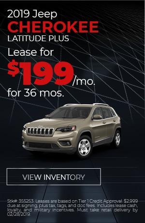 2019 Jeep Cherokee Feb