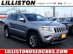 Used 2015 Jeep Grand Cherokee Limited 4x4 SUV for sale in Millville, NJ