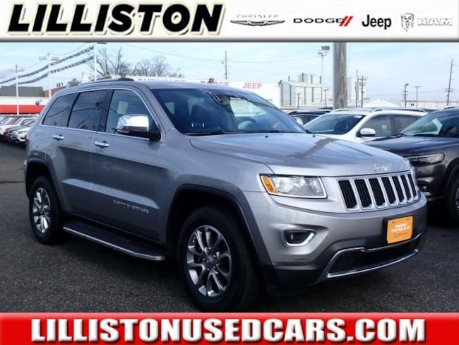 Certified 2015 Jeep Grand Cherokee Limited 4x4 SUV for sale in Millville, NJ