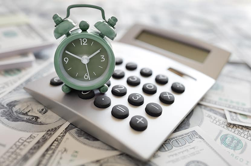 defining APR at Lincoln of New Bern in New Bern | Alarm clock and money