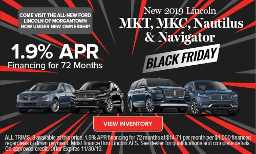 New 2019 Lincoln MKC, Nautilus & Navigator