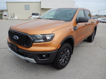 2019 Ford Ranger XLT Crew Cab 4WD/Right Hand Controls