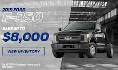 2019 F-350 Save Up To $8,000