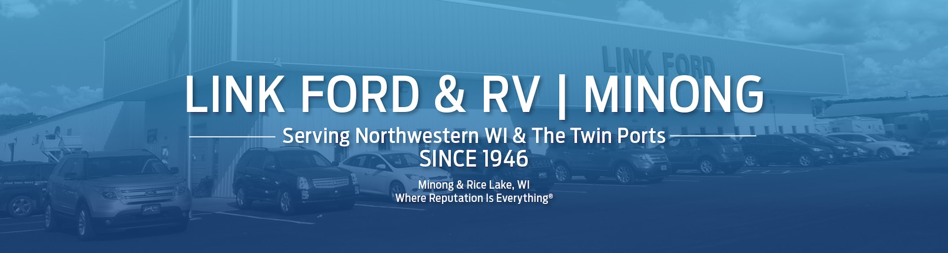 Link Ford Minong >> Link Ford Minong Ford Dealership In Minong Wi