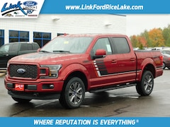 2018 Ford F-150 Lariat Sport 4x4 Lariat  SuperCrew 5.5 ft. SB