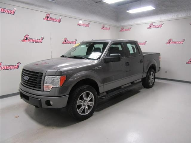 2014 Ford F-150 STX 4x4 SuperCrew Cab Styleside 5.5 ft. box 145 in Truck SuperCrew Cab
