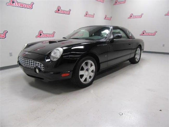 2002 Ford Thunderbird Removable Top Deluxe Convertible