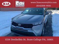 New 2021 Kia Sorento LX SUV 5XYRGDLC3MG003572 K3703 in State College, PA at Lion Country Kia