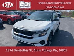 New 2021 Kia Seltos S SUV KNDEUCAA7M7201989 K3797 in State College, PA at Lion Country Kia