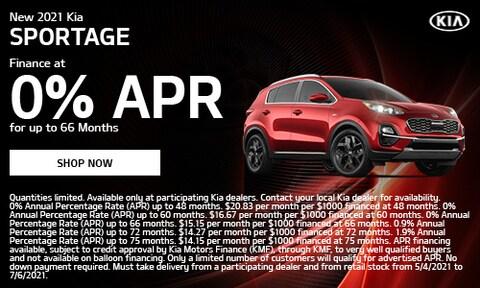 May 2021 Sportage Special