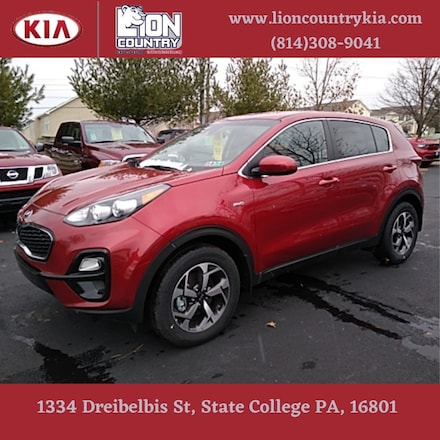 Pre-Owned Featured 2020 Kia Sportage LX SUV for sale near you in State College, PA