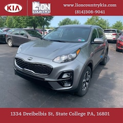 New 2020 Kia Sportage LX SUV KNDPMCAC6L7823377 K3588 in State College, PA at Lion Country Kia