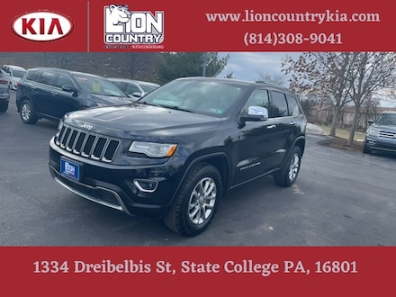 Pre-Owned Featured 2015 Jeep Grand Cherokee Limited 4x4 SUV for sale near you in State College, PA