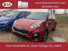 New 2021 Kia Sportage LX SUV KNDPMCAC4M7889069 K3692 in State College, PA at Lion Country Kia