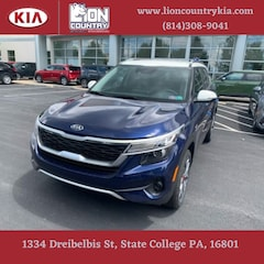 New 2021 Kia Seltos S SUV KNDEUCA26M7101777 K3597 in State College, PA at Lion Country Kia