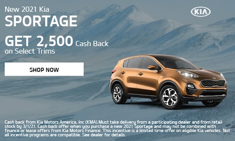 February 2021 Sportage Special