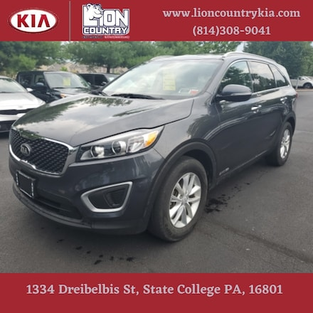 Pre-Owned Featured 2017 Kia Sorento 3.3L LX SUV for sale near you in State College, PA