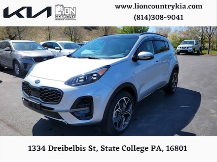 Pre-Owned Featured 2021 Kia Sportage SX Turbo SUV for sale near you in State College, PA