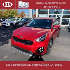 New 2020 Kia Niro LXS SUV KNDCB3LC1L5424017 K3639 in State College, PA at Lion Country Kia