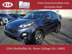 New 2021 Kia Sportage LX SUV KNDPMCACXM7884975 K3682 in State College, PA at Lion Country Kia