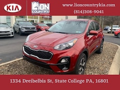 New 2021 Kia Sportage LX SUV KNDPMCAC1M7889384 K3709 in State College, PA at Lion Country Kia