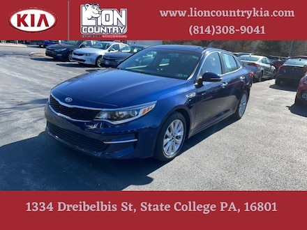 Pre-Owned Featured 2018 Kia Optima LX Sedan for sale near you in State College, PA
