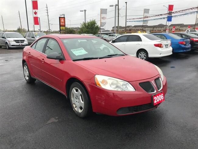 2006 Pontiac G6 Base  -LOW KMS, AUX, FUN TO DRIVE! Sedan
