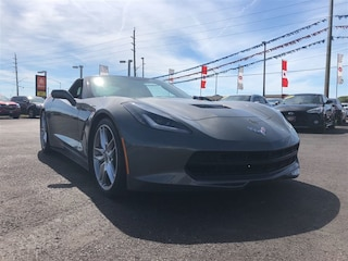 2015 Chevrolet Corvette Z51 1LT-STINGRAY-KOOKS HEADERS-NAV-TARGA TOP Coupe