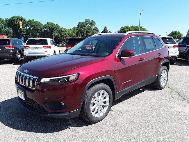 New 2019 Jeep Cherokee LATITUDE FWD Sport Utility in Litchfield
