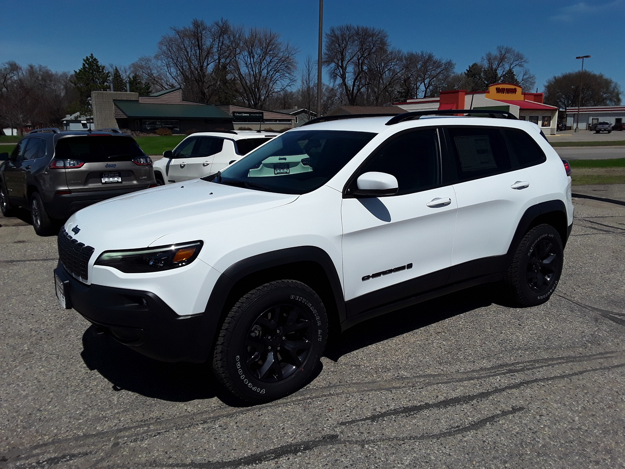 2019 Jeep Cherokee Upland Sport Utility