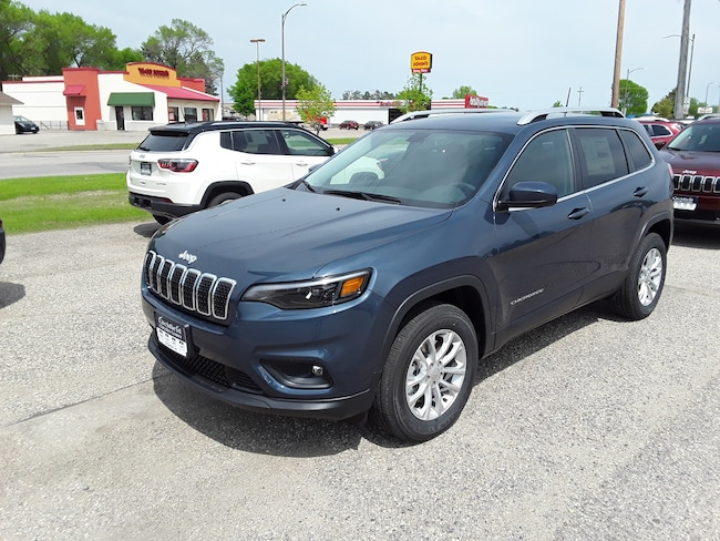 New 2019 Jeep Cherokee LATITUDE 4X4 Sport Utility in Litchfield