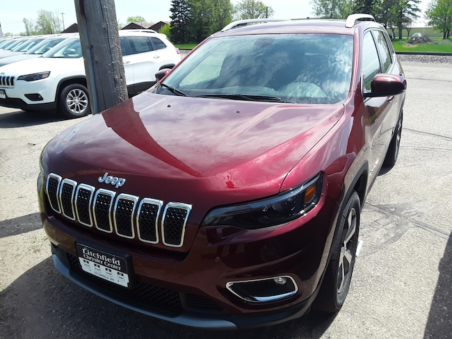 New 2019 Jeep Cherokee LIMITED 4X4 Sport Utility in Litchfield