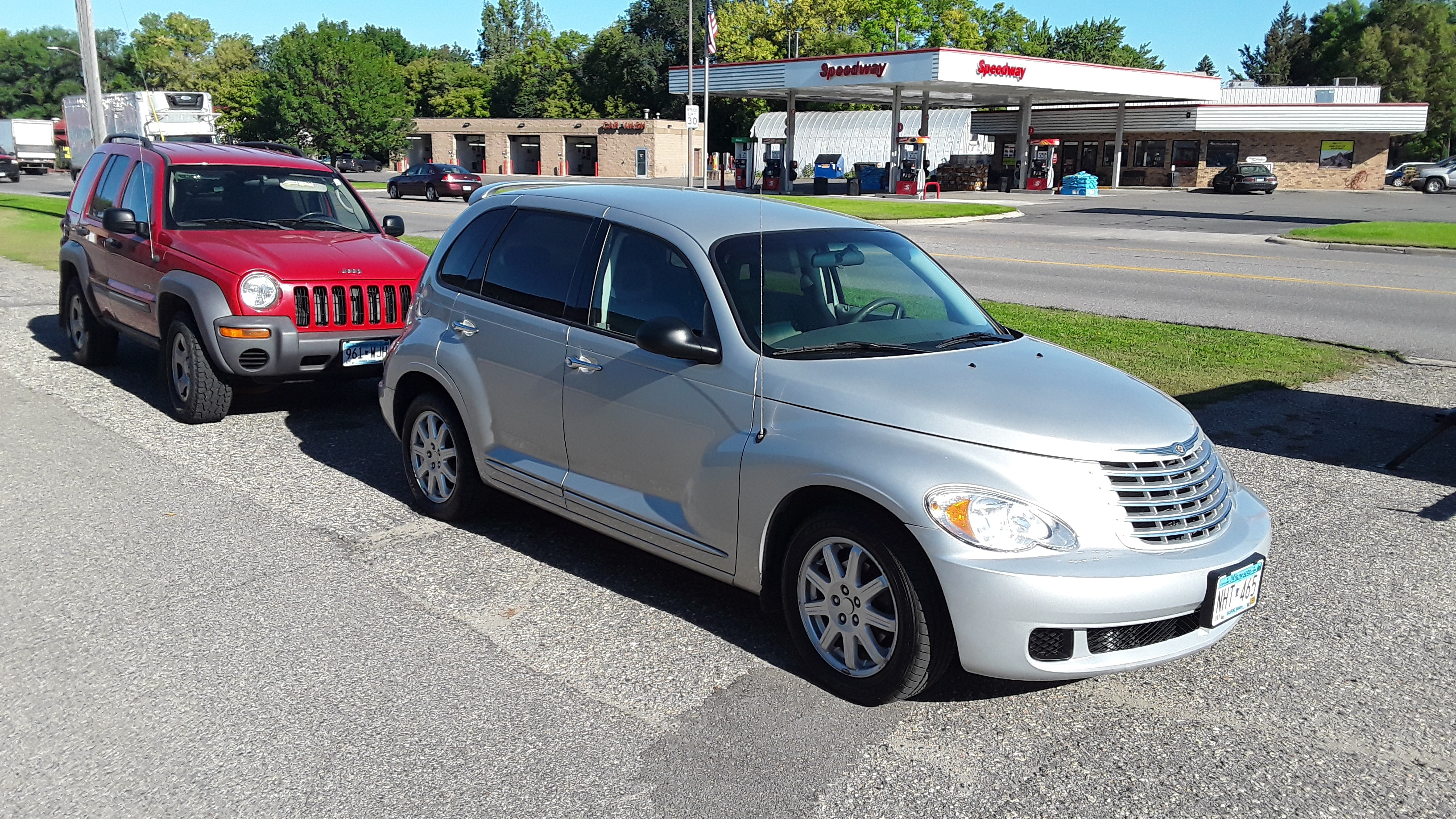 Used 2007 Chrysler PT Cruiser  with VIN 3A4FY48B77T607682 for sale in Litchfield, Minnesota