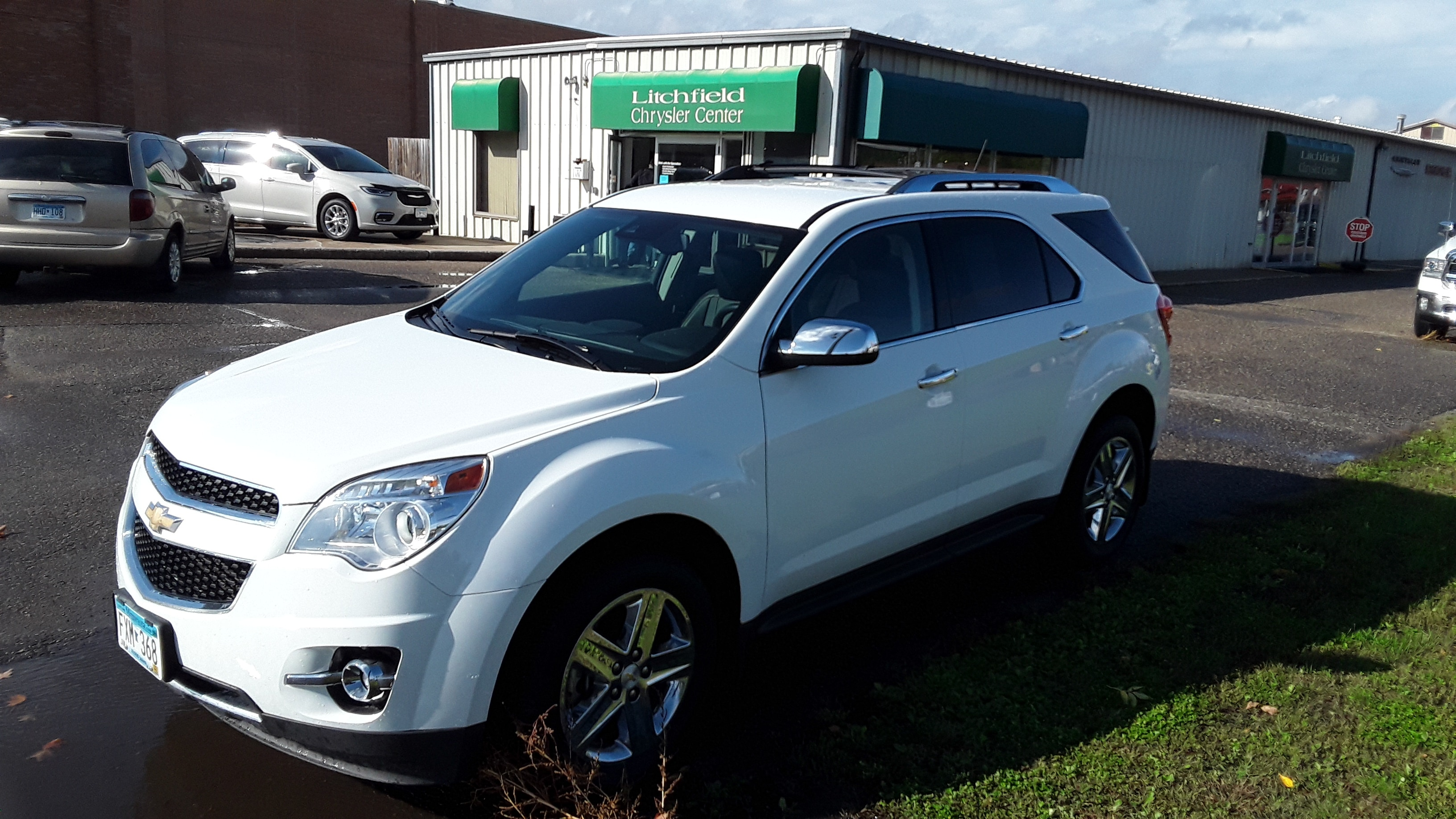 Used 2014 Chevrolet Equinox LTZ with VIN 2GNFLHE34E6225854 for sale in Litchfield, Minnesota