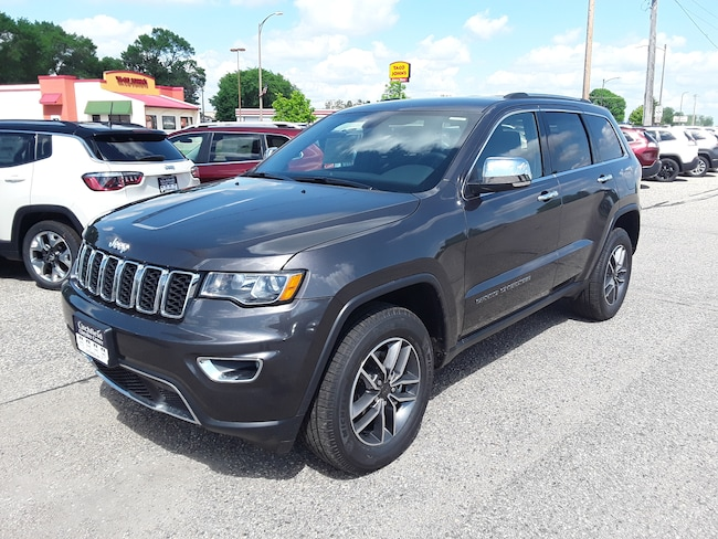 New 2019 Jeep Grand Cherokee LIMITED 4X4 Sport Utility in Litchfield