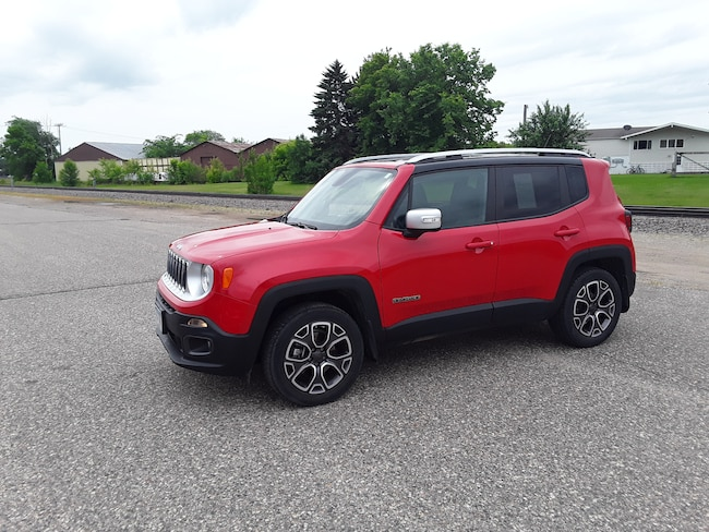 Used 2015 Jeep Renegade Limited 4x4 SUV in Litchfield