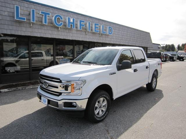 2018 Ford F-150 XLT 4X4 Crew Cab/EcoBoost/Cloth Seats/Trailer Hitch/Alloys/Rear Camera/Bluetooth