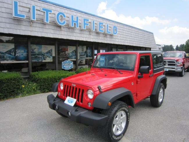Used 2017 Jeep Wrangler Sport 4X4 SUV/6Spd Manual/Hardtop/AC/Connectivity Pkg/Alloys For Sale Litchfield, Connecticut