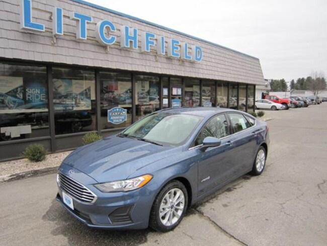 New 2019 Ford Fusion Hybrid SE Sedan/Nav/Cloth/Alloys/BLIS/Sync/WiFi/SiriusXM/43 MPG For Sale/Lease Litchfield, CT