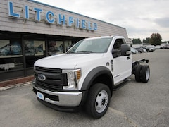 2019 Ford F-450 DRW XL 4X4 Reg Cab Chassis/Diesel/Long Frame/Tow/Plow Prep/PTO/16500 GVW