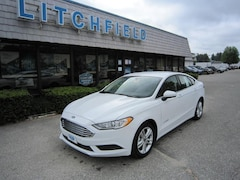 2018 Ford Fusion S Hybrid Sedan/Cloth/Alloys/Sync/Keyless Entry/43 MPG