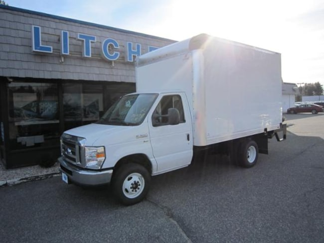 2019 Ford E-350 DRW Commercial Cutaway Cargo/Cloth Buckets/Power Pkg/Limited Slip/Supreme Box/11500 GVW