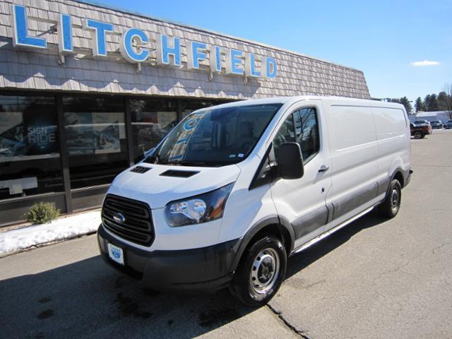 2018 Ford Transit 150 LR LWB Cargo Van/Partition/Rear Glass/Vinyl Buckets/Rear Camera/8600 GVW