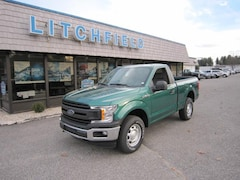 2018 Ford F-150 XL 4X4 Reg Cab/V8/Plow Prep/Locking Axle/Pro Trailer/Sync/Chrome Bumpers