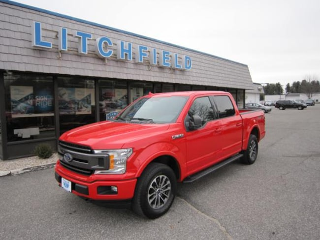 Used 2018 Ford F-150 XLT Sport 4X4 Crew Cab/EcoBoost/Nav/Luxury/Power Pkgs/Sync/110 Volt Outlet For Sale Litchfield, Connecticut