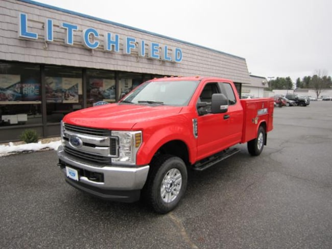 2019 Ford F-350 STX 4X4/Super Cab/V8/Plow Prep/Power Pkgs/Reading Service Body/11500 GVW