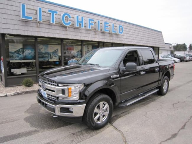 Used 2018 Ford F-150 XLT 4X4 Crew Cab/V8/Chrome Pkg/Skid Plates/36 Gal Tank/Trailer Hitch/Sirius For Sale Litchfield, Connecticut
