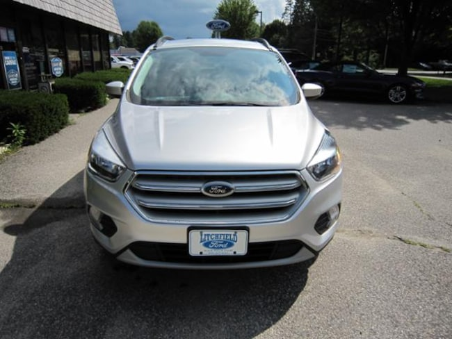 certified pre owned 2018 ford escape for sale litchfield ct stock u24193. Black Bedroom Furniture Sets. Home Design Ideas