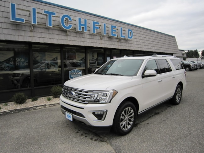 New 2018 Ford Expedition Max Limited 4X4 SUV/Nav/Vista Roof/Leather/HD Tow/Driver Assist/Cargo Pkgs/WiFi For Sale/Lease Litchfield, CT